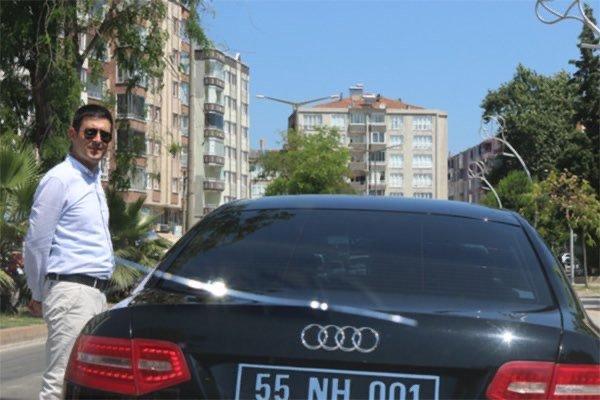 Samsun'da başkan yardımcısından skandal hareket