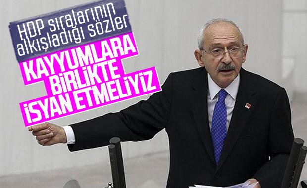 Kemal Kılıçdaroğlu'ndan kayyum eleştirisi