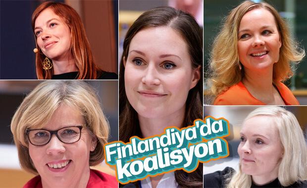Finlandiya'da koalisyonu kadın liderler kurdu