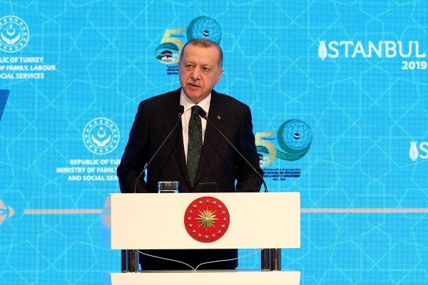 Erdoğan Macron'a İslami terör tepkisinde bulundu