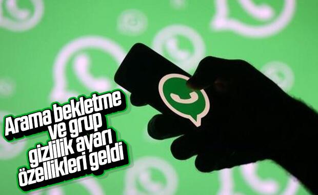 WhatsApp'ın android sürümüne arama bekletme özelliği geldi