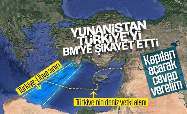 Yunanistan, Türkiye'yi BM'ye şikayet edip yaptırım istedi