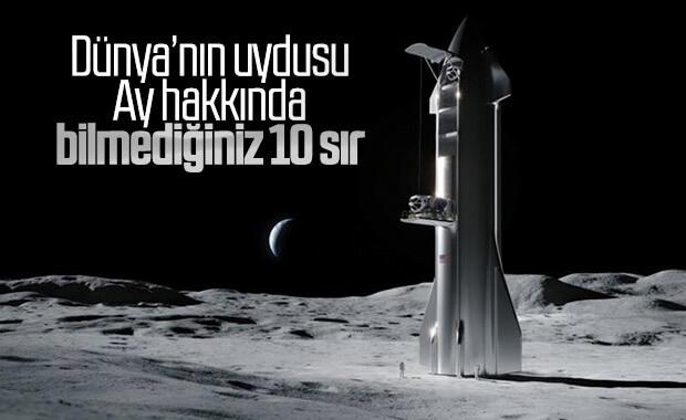 Ay ile ilgili muhtemelen bilmediğiniz 10 gerçek