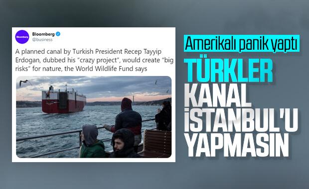 Amerikan medyasında Kanal İstanbul aleyhinde haber çıktı