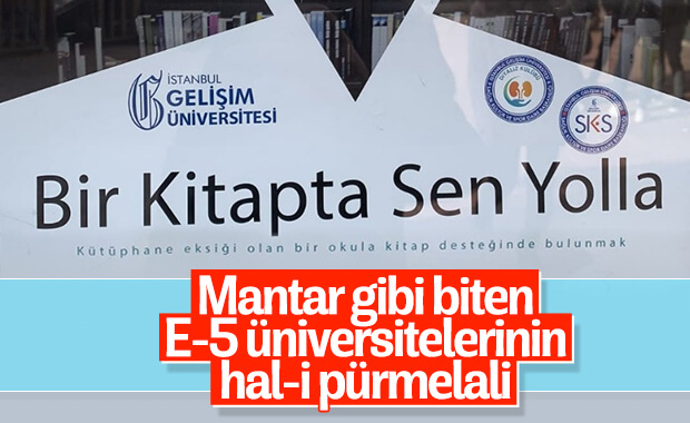 Özel üniversitenin dil bilgisi hatası alay konusu oldu