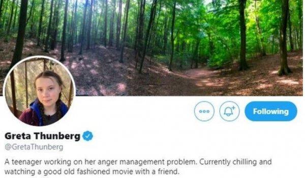 Trump, Greta'nın sakinleşmesi gerektiğini söyledi