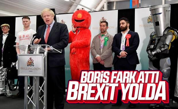 İngiltere'de Boris Johnson seçimin galibi oldu