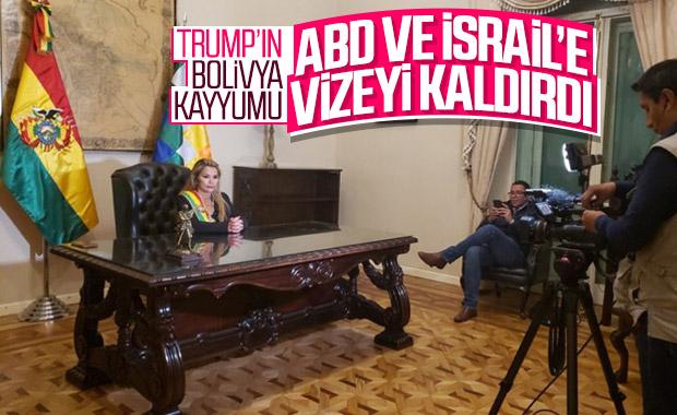 Bolivya ABD ve İsrail vatandaşlarına vizeyi kaldırdı