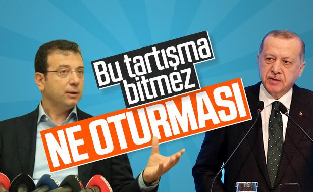 İmamoğlu, Erdoğan'ın Kanal İstanbul sözlerine yanıt verdi
