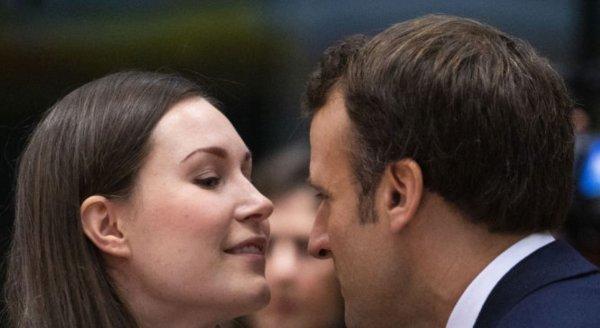 En genç başbakanla Macron'un samimiyeti