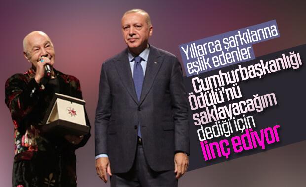 Cumhurbaşkanı'ndan ödül alan Mazhar Alanson linç ediliyor