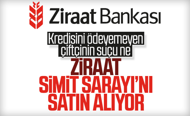 Ziraat Bankası Simit Sarayı'nı alıyor