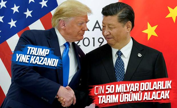 ABD ile Çin arasında 50 milyar dolarlık anlaşma