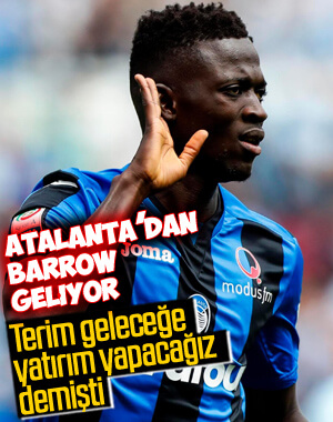 Galatasaray'da transfer rotası Musa Barrow