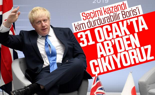 Boris 31 Ocak itibariyle AB'den çıkacaklarını duyurdu