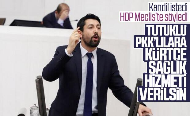HDP'li vekil: Tutuklulara Kürtçe sağlık hizmeti olmalı