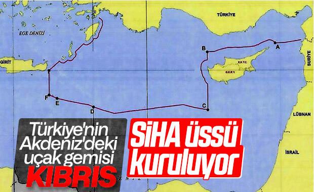 SİHA'lar Akdeniz için KKTC'ye yerleşiyor