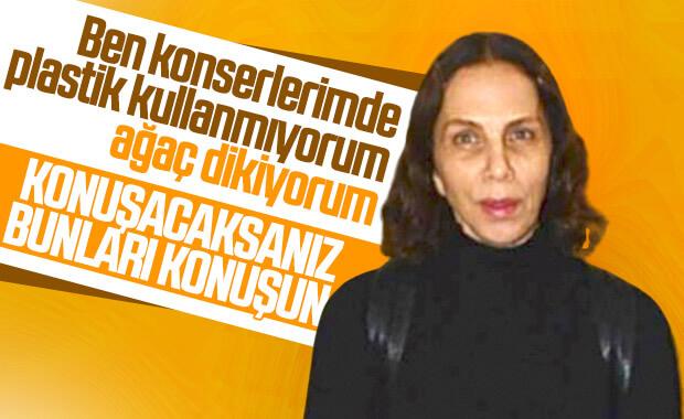 Sertab Erener yine makyajsız