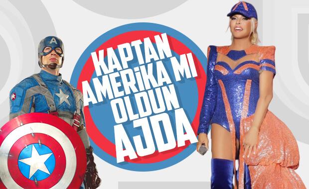 Ajda Pekkan'ın ilginç sahne kostümü
