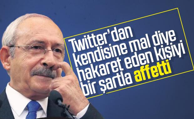 Kemal Kılıçdaroğlu, hakareti burs şartıyla affetti