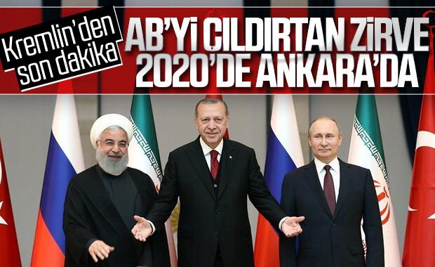 Üçlü toplantı 2020 başında Ankara'da