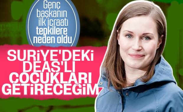 Marin: Fin vatandaşı DEAŞ'lı çocukları geri getireceğim