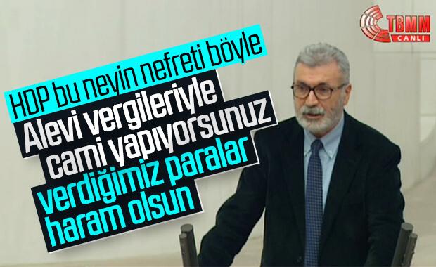 HDP vekili: Aleviler vergilere hakkını helal etmiyor