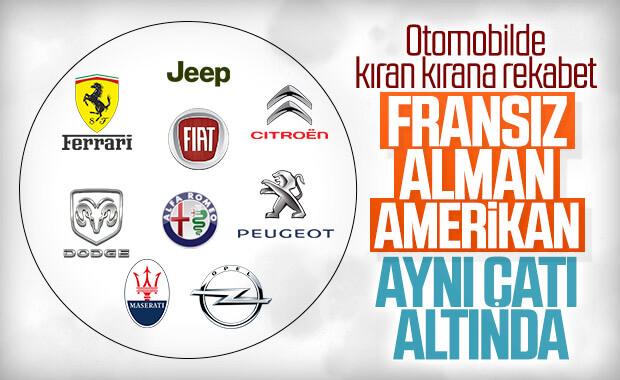 Fiat ve PSA'nın birleşmesine Fransa'dan onay geldi