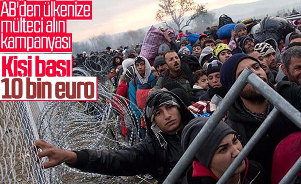 AB'den mülteci kabul eden ülkelere teşvik