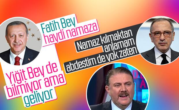 Fatih Altaylı, Erdoğan'la namaz anısını anlattı