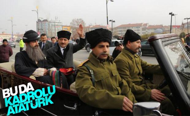 Temsili Atatürk'ün Sivas'tan ayrılışı