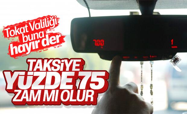 Tokat'ta taksimetreler 7 liradan açılacak