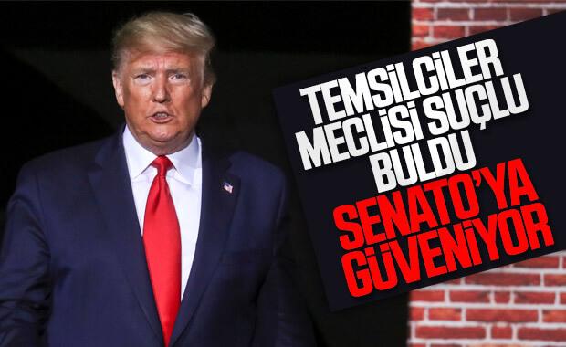 Trump'a yönelik suçlama Temsilciler Meclisi'nden geçti