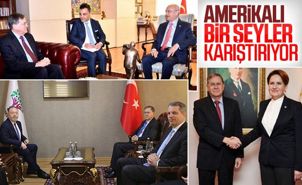 ABD Büyükelçisi Satterfield, HDP'yi ziyaret etti