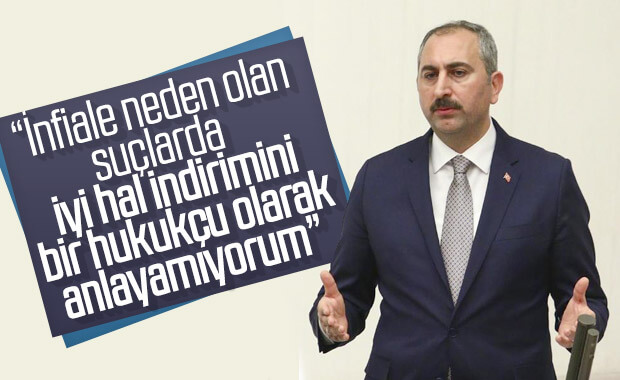 Bakan Abdulhamit Gül, 'iyi hal' indirimini eleştirdi