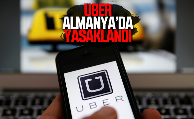 Alman mahkemesi Uber'i yasakladı