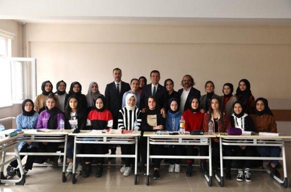 Ekrem İmamoğlu'nun Silivri'deki imam hatip ziyareti