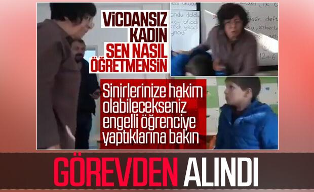 Ankara'da dayakçı öğretmen görevden alındı