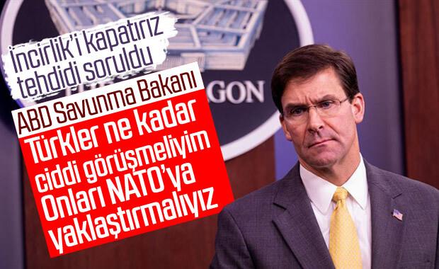 Pentagon: Türkiye'yi NATO'ya bağlamamız lazım