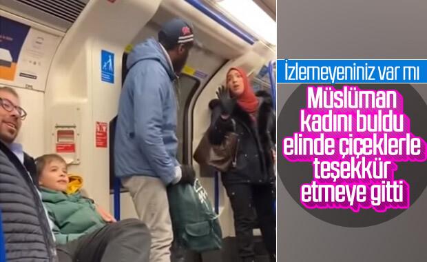 Yahudi babadan kendisini savunan Müslüman kadına teşekkür