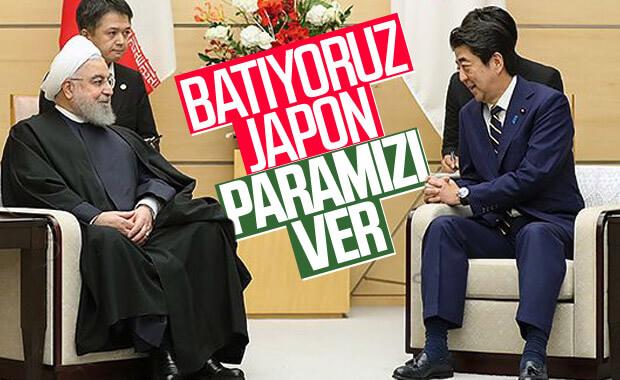 Ruhani Japonya'dan petrol paralarını talep etti