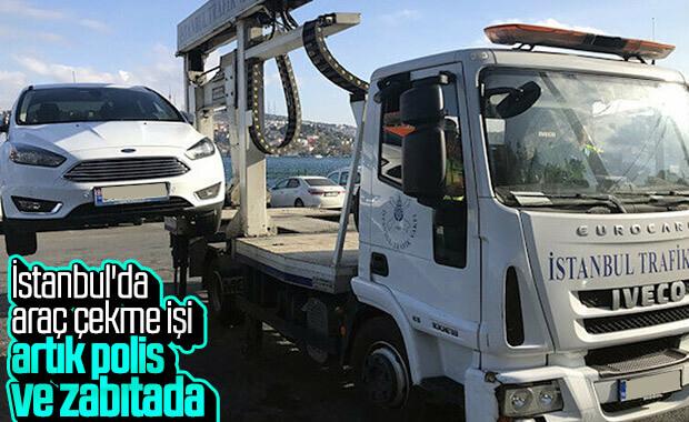 İstanbul Trafik Vakfı, artık araç çekmeyecek