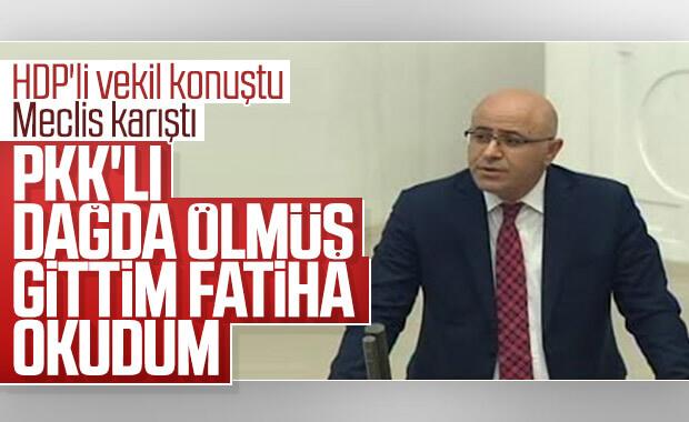 Meclis'te PKK'lı teröriste Fatiha tartışması