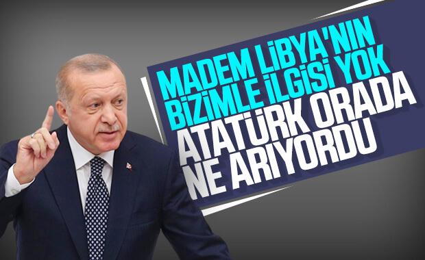 Cumhurbaşkanı Erdoğan, Libya eleştirilerine yanıt verdi