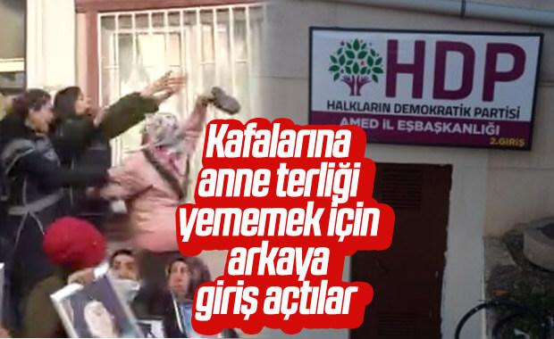 Diyarbakır'da HDP'nin çözümü: Arka kapıya tabela