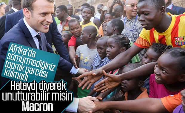 Macron'dan sömürgecilik itirafı