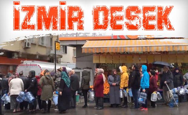İzmir'in 3 ilçesi susuz kaldı