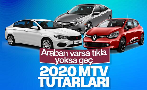 2020 yılı Motorlu Taşıtlar Vergisi tutarları