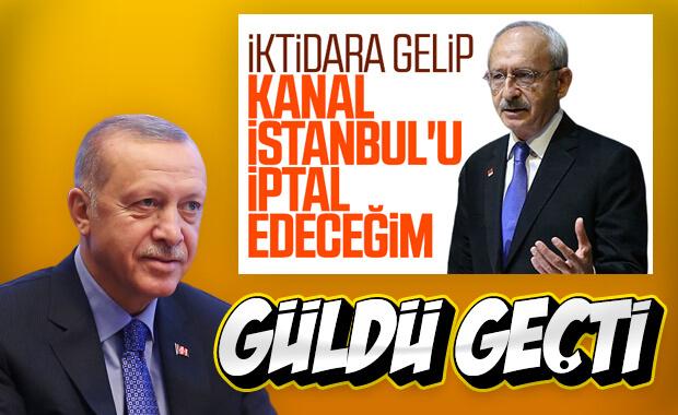 Kılıçdaroğlu'nun iktidar hayali Erdoğan'ı güldürdü
