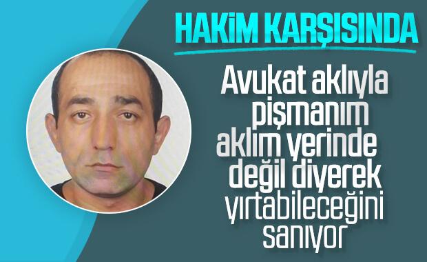Ceren Özdemir'in katili hakim karşısında